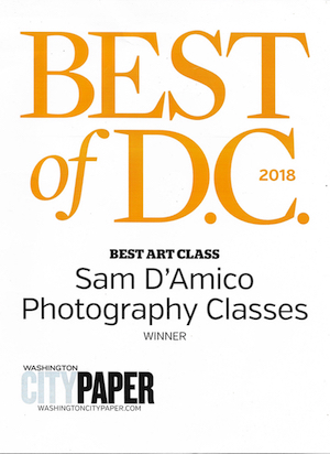 Sam DAmico photograhy classes, wall decor and stock photography